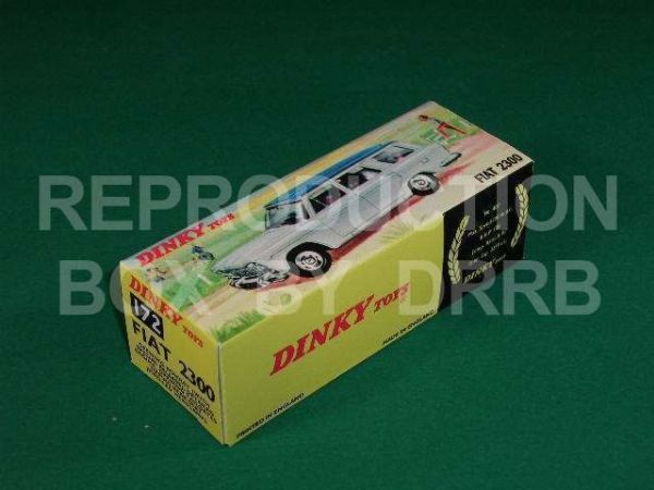 Dinky #172 Fiat 2300 Station Wagon - Reproduction Box